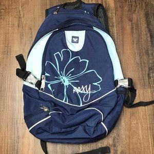 Roxy Blue Flower Backpack